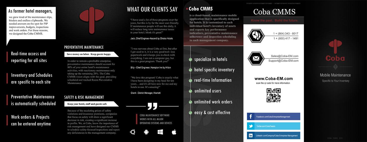 coba website brochure